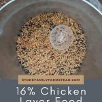 chicken layer feed