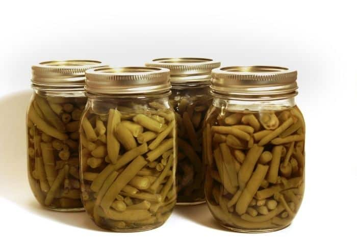 jars of home canned green beans - Canning Low Acid Foods - Stone Family Farmstead