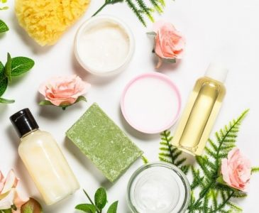 various homemade skin care products