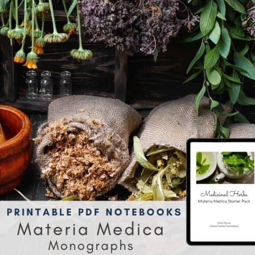 Medicinal Herb Materia Medica