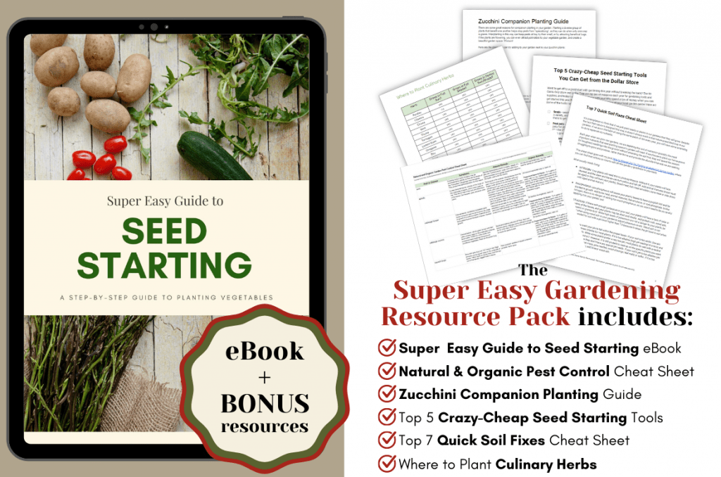 Super Easy Gardening Resource Pack at Stone Family Farmstead