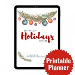 Handmade Holidays Planner by Kristi Stone