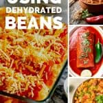 various mexican dishes - 5 Delicious and Easy Ways to Use Dehydrated Pinto Beans - Stone Family Farmstead