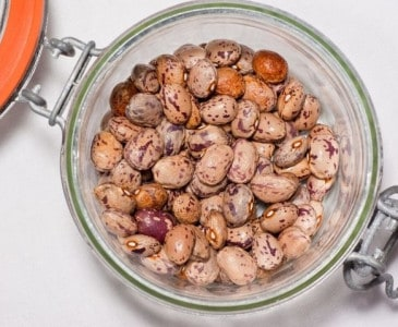 Pinto beans in a jar - How to Can Pinto Beans {and Other Dried Beans} - Stone Family Farmstead