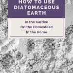 diatomaceous earth powder - How to Use Diatomaceous Earth in the Garden - Stone Family Farmstead