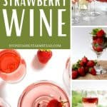 fresh strawberries and wine - How to Make Strawberry Wine - Stone Family Farmstead