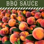 fresh peaches - How to Make a Delicious Peach BBQ Sauce {+ Canning Instructions} - Stone Family Farmstead