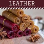rolled up fruit leather - How to Make Fruit Leather from Any Fruit - Stone Family Farmstead