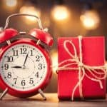 clock and gift - 10 Handmade Christmas Gift Ideas You Can Start Now - Stone Family Farmstead